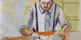 Vater am Küchentisch, Illustration: Tanja Meyer